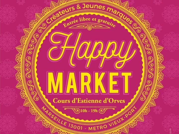PièceUnik au Happy Market de Marseille samedi !