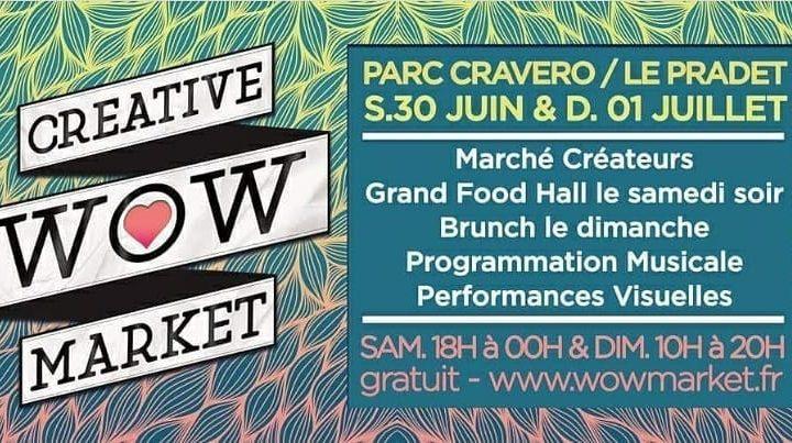 PièceUnik au WOW Market ce week-end !