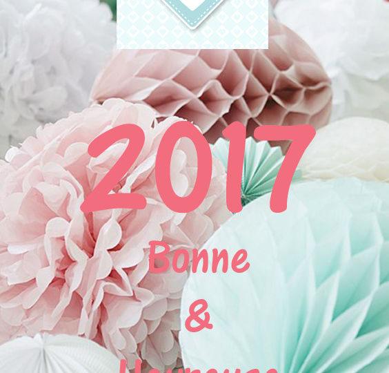 Je suis encore dans les temps : Bonne année 2017 !!